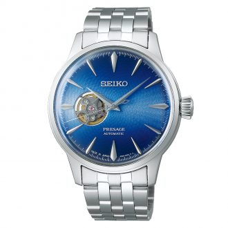 SEIKO PRESAGE - Blue Acapulco Cocktail Time Blue Dial Watch SSA439J1