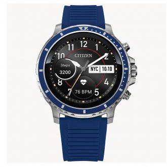CITIZEN - CZ SMART Smartwatch Blue Silicone Strap MX0001-12X