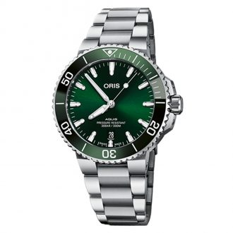 ORIS | Aquis Date Calibre 400 41.5mm Watch | 0140077694157-0782209PEB
