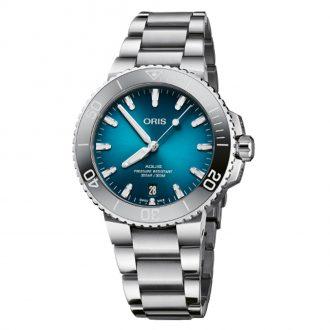 Oris | Aquis Date Blue Dial Watch | 0173377324155-0782105PEB
