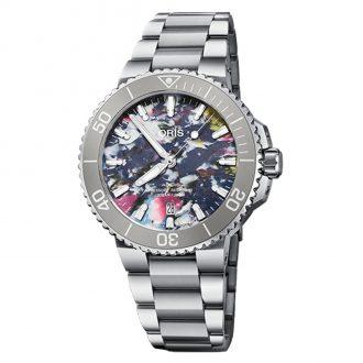 Oris | Aquis Date Upcycle 41.5mm Watch | 01 733 7766 4150-SET